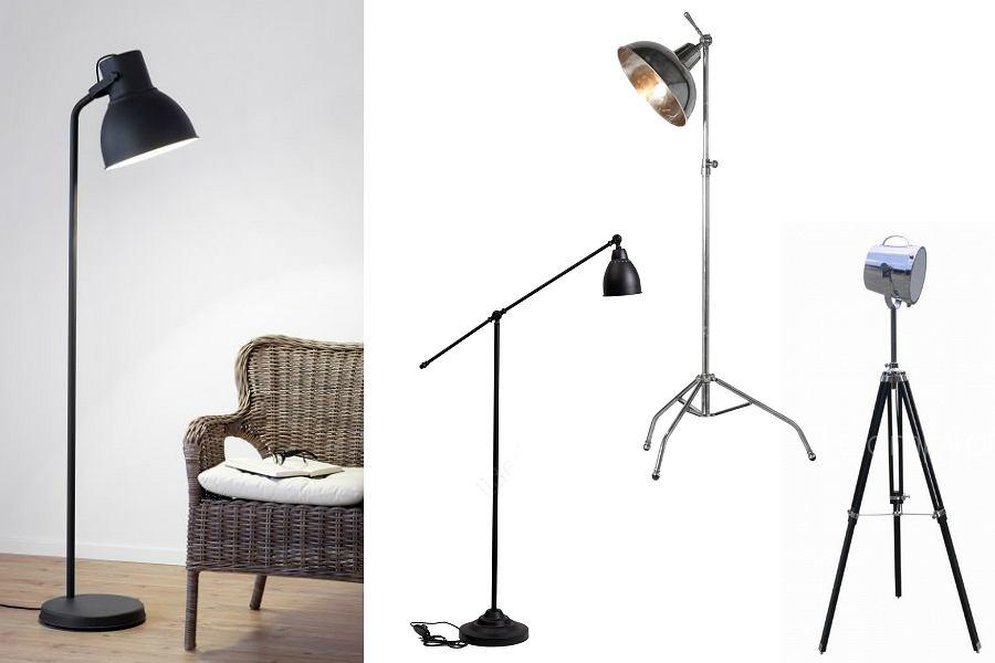 lampy podłogowe industrialne