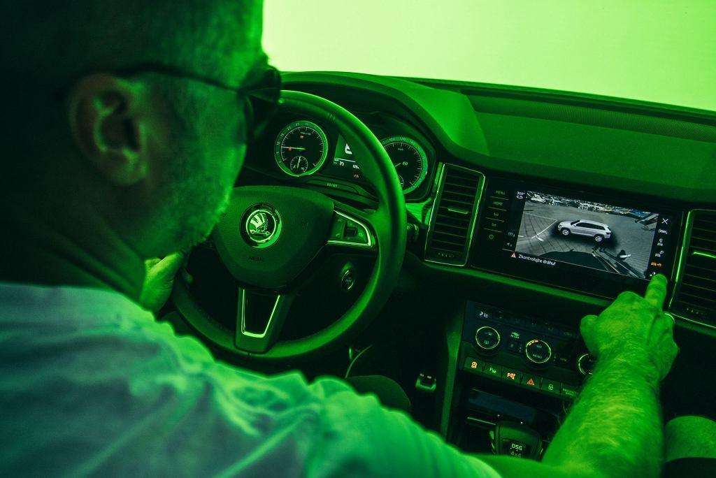 Testy systemów w samochodach marki Skoda