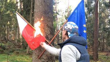 Spalenie flagi