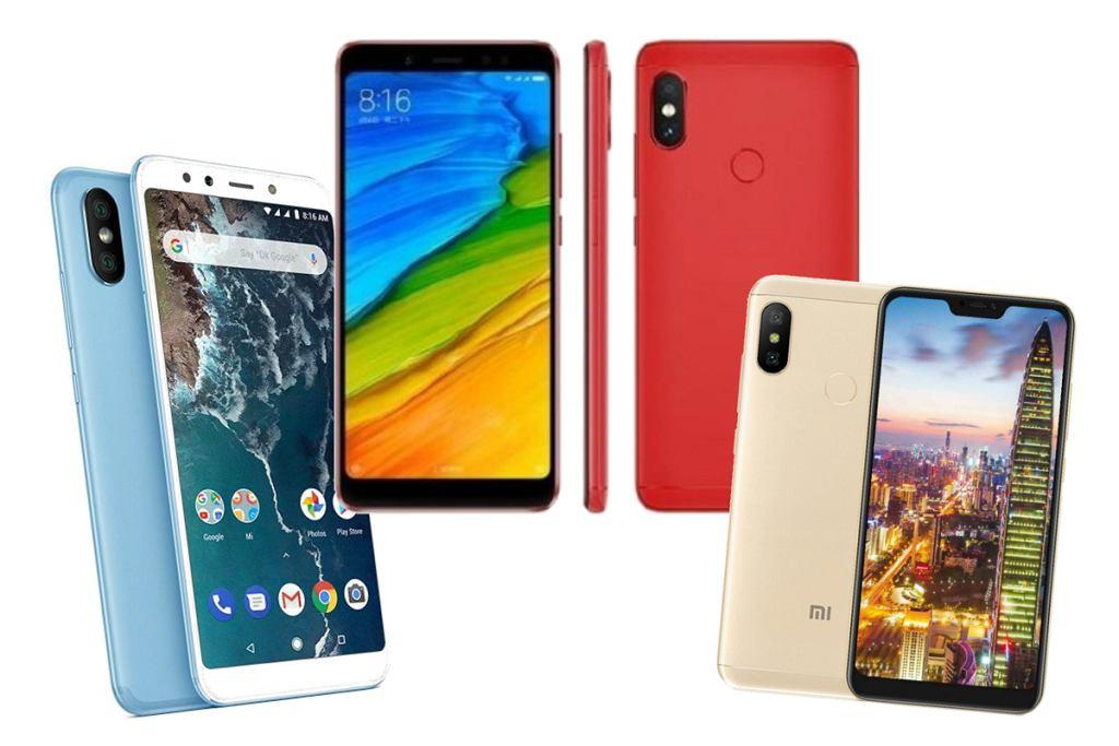 Smartfony Xiaomi
