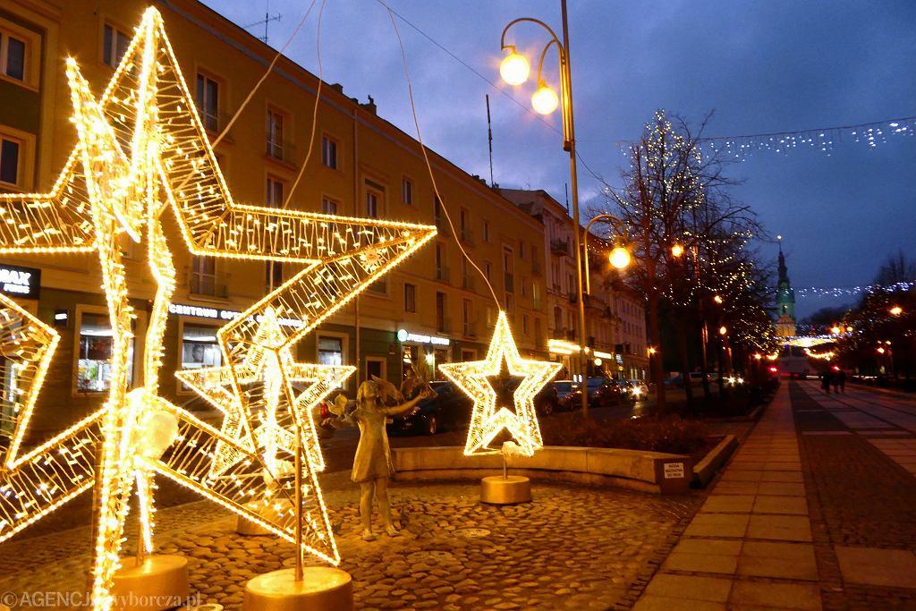 Świąteczna iluminacja w Częstochowie