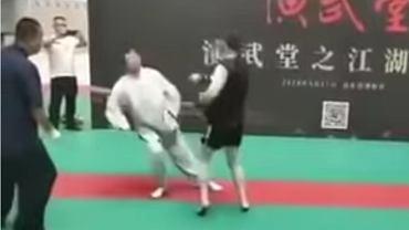 Ma Baoguo ciężko znokautowany przez 20 lat młodszego przeciwnika