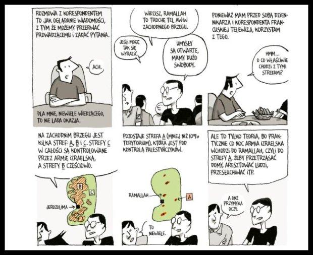 Kadry z komiksu