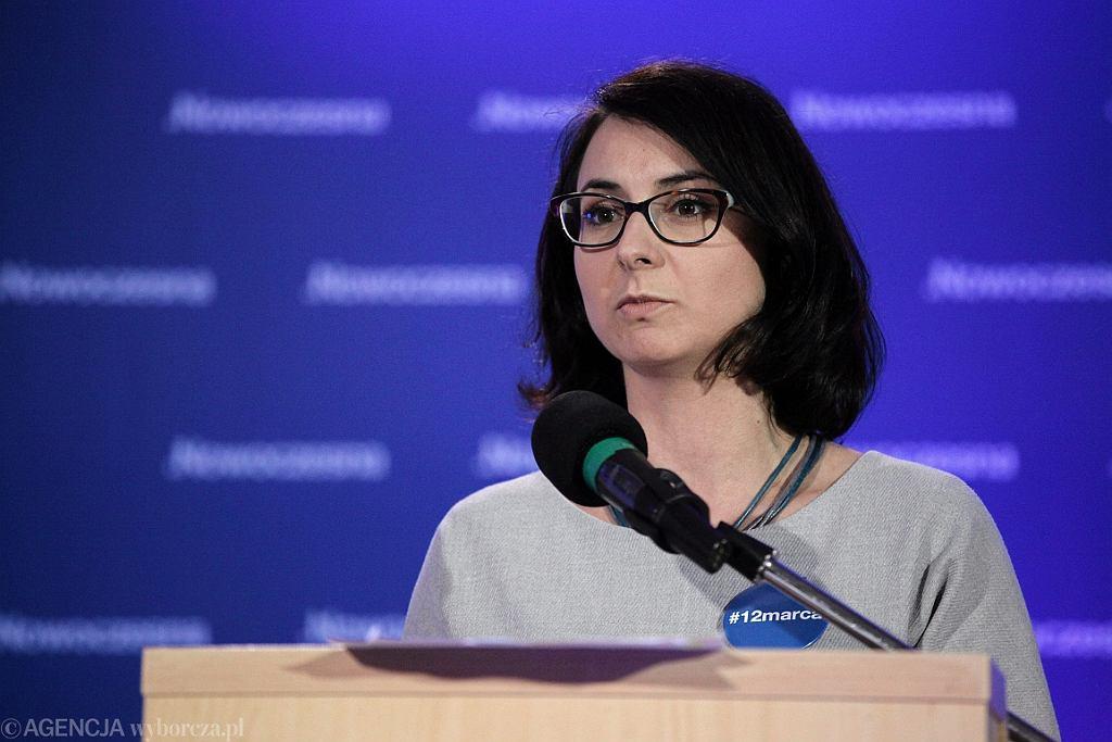Kamila Gasiuk-Pihowicz na Radzie Krajowej partii Nowoczesna (fot. Sławomir Kamiński/AG)