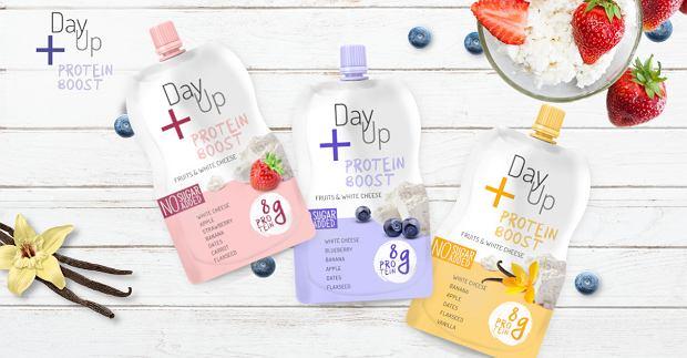 DayUp wchodzi w nową kategorię z produktem Protein Boost