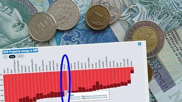 Polska gospodarka zagrożona recesją