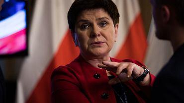 Była premier Beata Szydło
