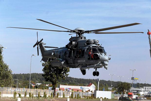 Francuski śmigłowiec Caracal na targach zbrojeniowych w Kielcach