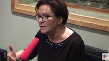 """Była premier Ewa Kopacz w """"Poranku Radia TOK FM"""""""