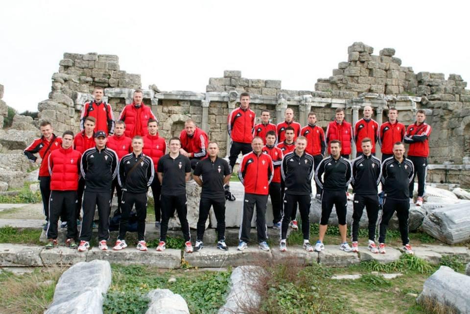 Piłkarze Górnika Zabrze w Turcji