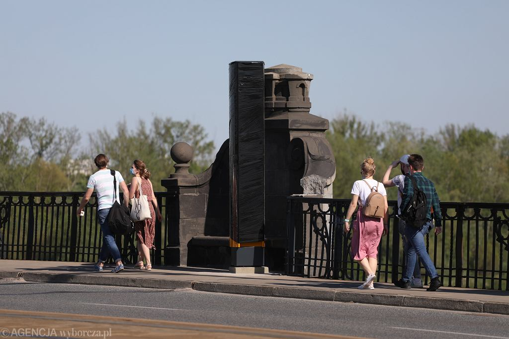 Fotoradary na moście Poniatowskiego