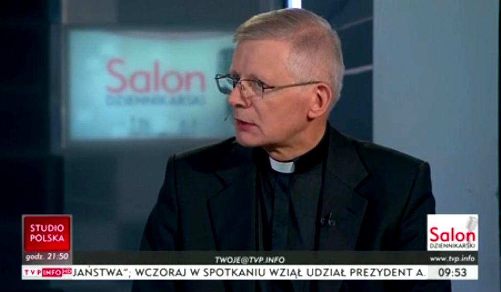 Ks. Henryk Zieliński w TVP Info o filmie 'Kler'
