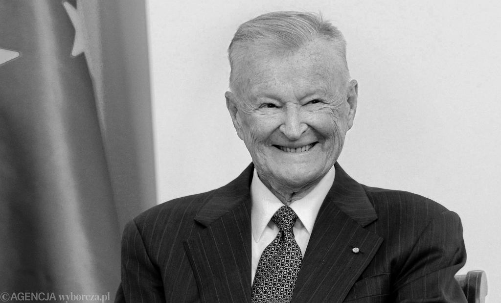 Prof. Zbigniew Brzeziński - politolog, były doradca prezydenta Jimmy'ego Cartera ds. bezpieczeństwa, zmarł w wieku 89 lat