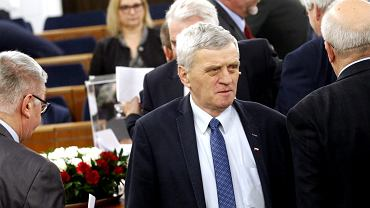 Senator PIS-u Stanisław Kogut w senacie, 19 stycznia 2018.