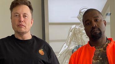 Elon Musk i Kanye West
