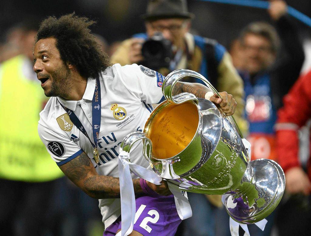 Radość Marcelo po zdobyciu Ligi Mistrzów.