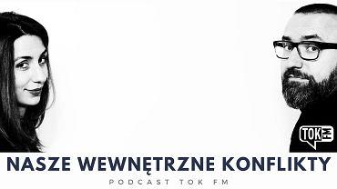 Cveta Dimitrova i Tomasz Stawiszyński, autorzy podcastu TOK FM 'Nasze wewnętrzne konflikty'