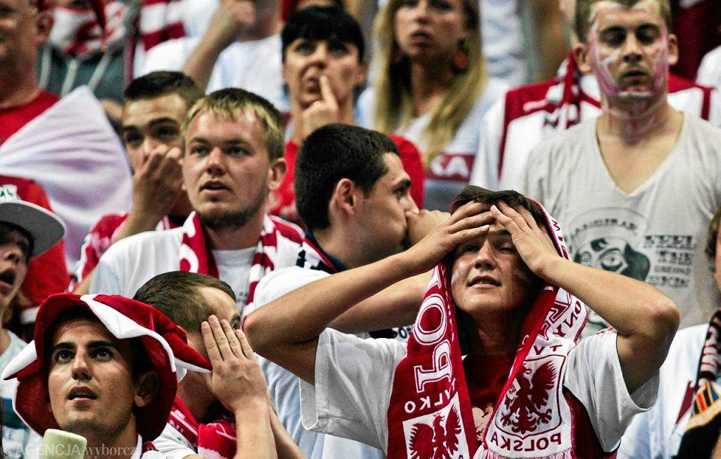 Załamani polscy kibice w Ergo Arenie
