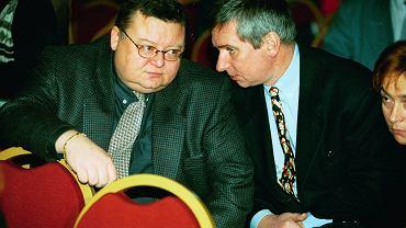 Wojciech Mann i Krzysztof Materna - 1995