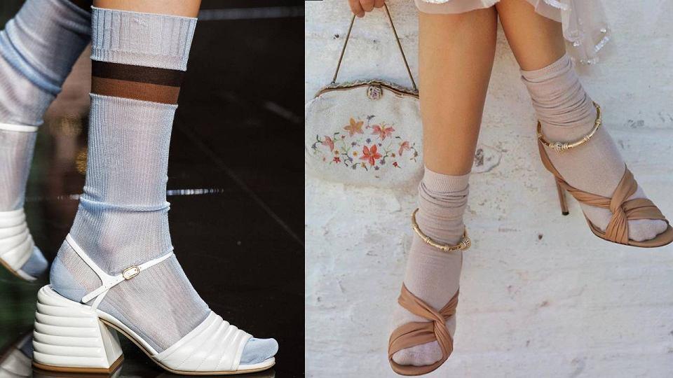 Jak nosić skarpetki? Trend 2020