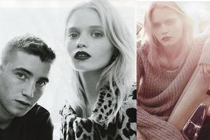 Abbey Lee Kershaw pozuje z bratem dla Vogue