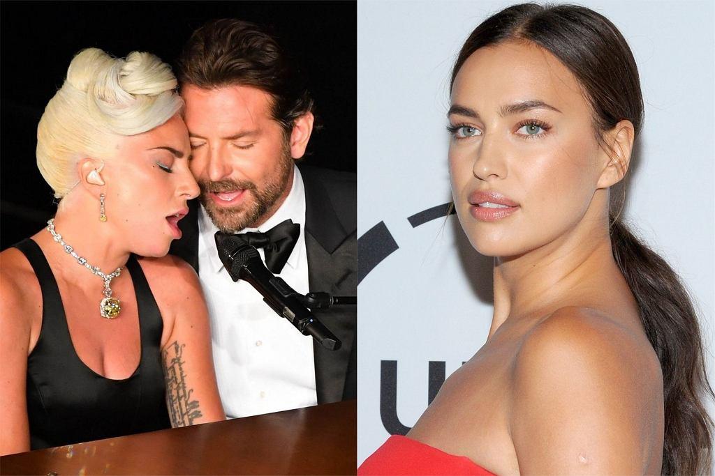 Bradley Cooper, Lady Gaga, Irina Shayk