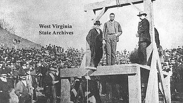 Hardy przed egzekucją 19 stycznia 1894 r.
