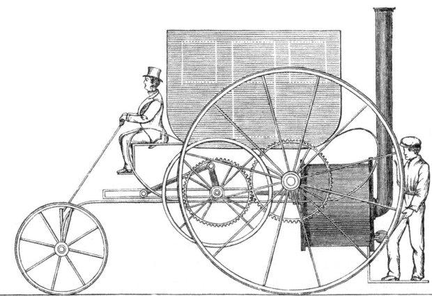 konstrukcja Richarda Trevithicka