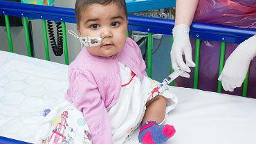 Layla Richards miała bardzo agresywną białaczkę limfoblastyczną. Po eksperymentalnej terapii genowej nowotwór krwi się cofnął