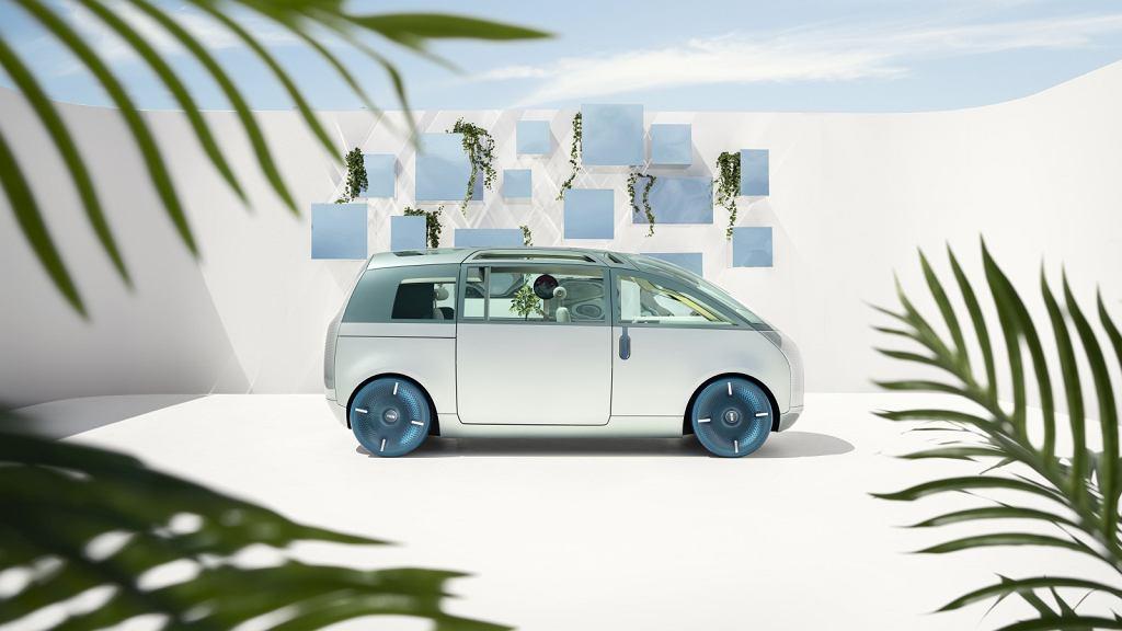 Pojazd koncepcyjny przyszłości Mini Vision Urbanaut