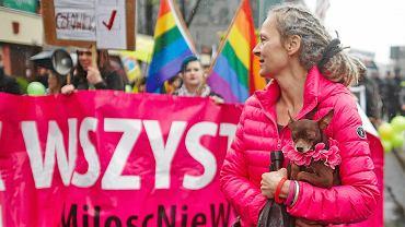 Marsz Równości na ulicach Łodzi