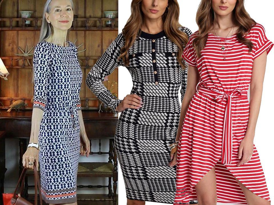 Sukienki dzianinowe wzory