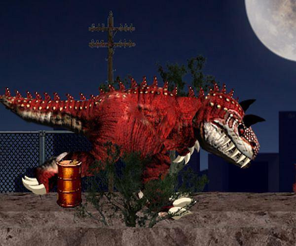 T-Rex atakuje: paryska rozwałka