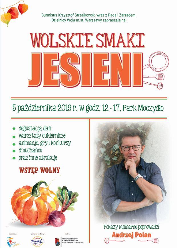 Plakat 'Wolskie smaki jesieni'