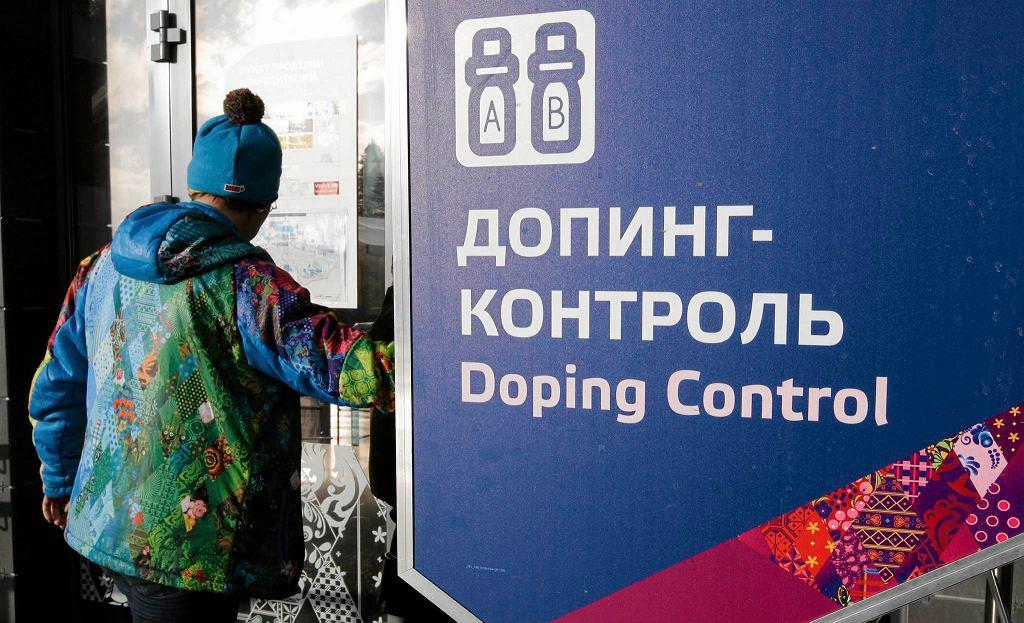 Kontrola dopingowa w Rosji