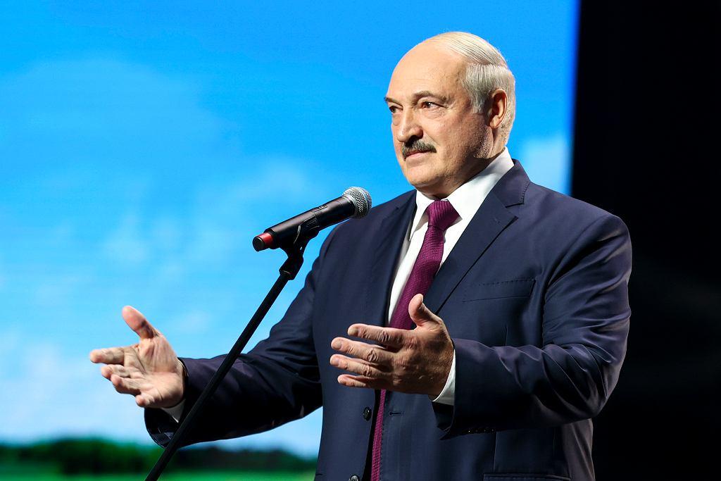 Prezydent Białorusi Aleksander Łukaszenka