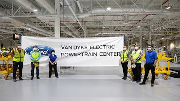 Ford modernizuję fabrykę Van Dyke