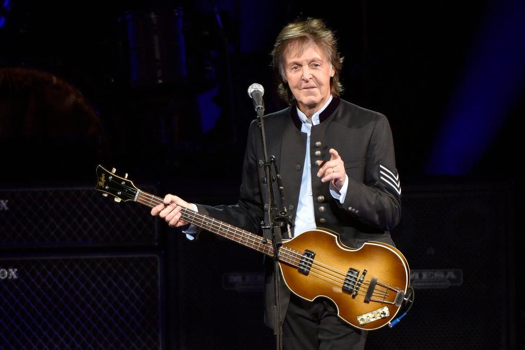 Paul McCartney na koncercie w Tinley Park, IL, 26 czerwca 2017