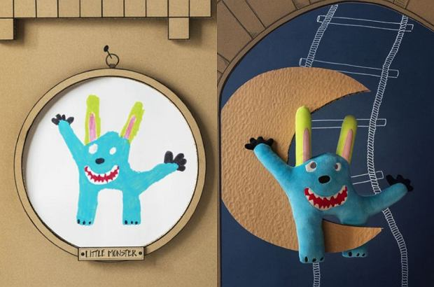Ikea. Kolekcja Sagoskatt. Niebieski potwór
