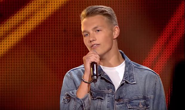 Adam Kubera - 'As Long As You Love Me' - Przesłuchania w ciemno - The Voice Kids 2 Poland