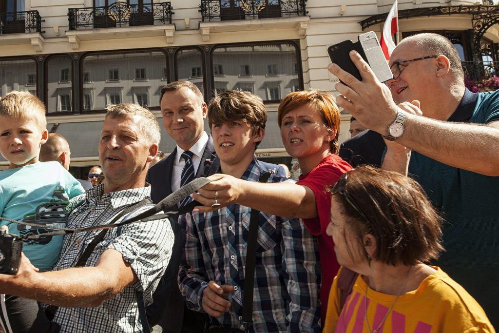 Święto Wojska 15 sierpnia. Andrzej Duda na defiladzie