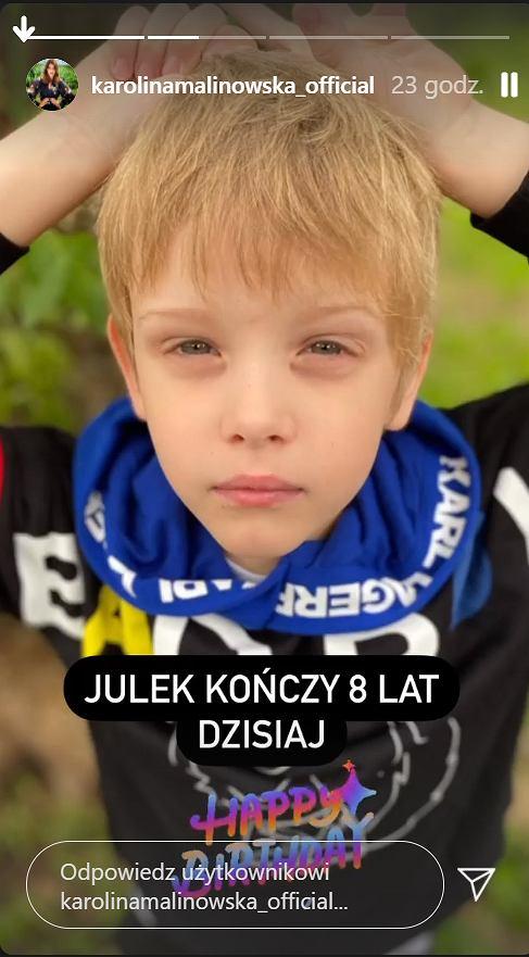 Syn Oliviera Janiaka i Karoliny Malinowskiej