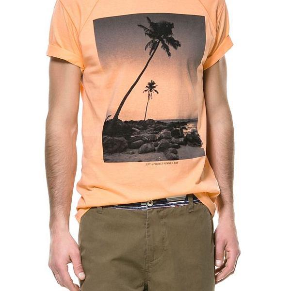 Koszulka z kolekcji Zara. Cena: 89,90 zł