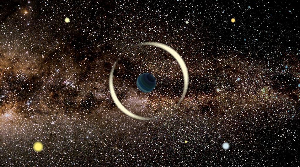 Naukowcy z Uniwersytetu Warszawskiego odkryli najmniejszą swobodną planetę. Nie obiega żadnej gwiazdy