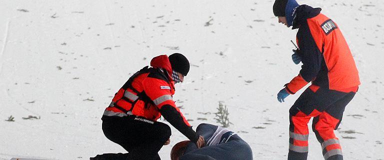 Skoki narciarskie. Lekarze w Niemczech postawili diagnozę Siegelowi po fatalnym upadku w Zakopanem