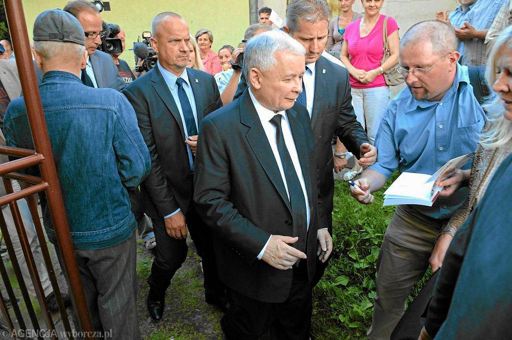 Jarosław Kaczyński, prezes PiS-u