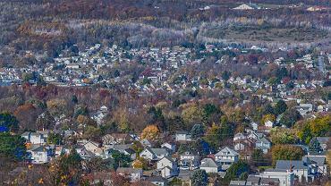 Wybory prezydenckie w USA. Hrabstwo Lackawanna, Pensylwania.