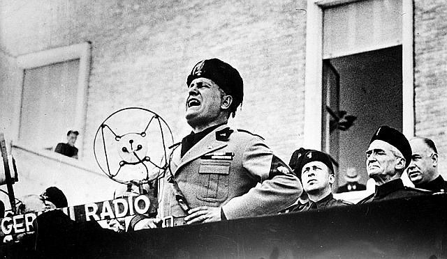 Benito Mussolini, 24 września 1934 r.