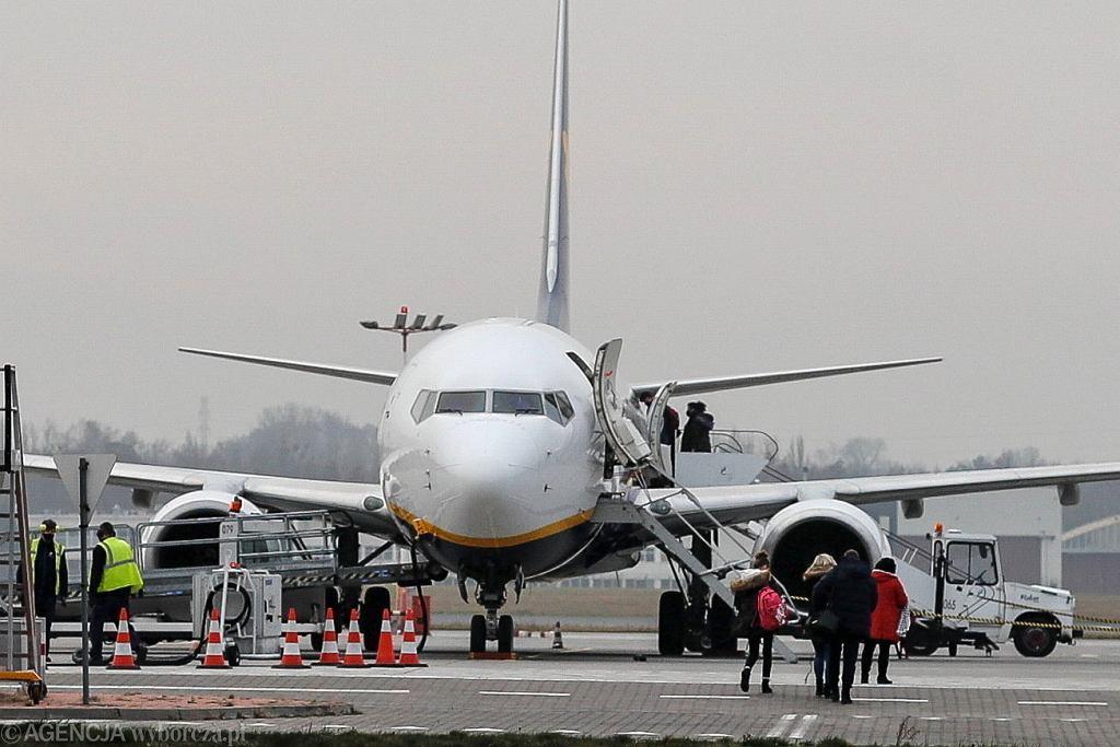 Do zatrzymania doszło na lotnisku w Łodzi