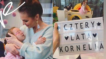 Anna Wendzikowska świętuje 4. urodziny córki